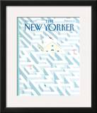 The New Yorker Cover - January 28, 1991 Framed Giclee Print by Kathy Osborn