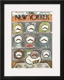 The New Yorker Cover - May 20, 1944 Framed Giclee Print by Abe Birnbaum