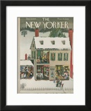 The New Yorker Cover - December 21, 1946 Framed Giclee Print by Edna Eicke