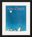 The New Yorker Cover - June 15, 1981 Framed Giclee Print by Charles Saxon