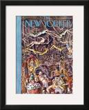 The New Yorker Cover - April 27, 1935 Framed Giclee Print by Reginald Marsh