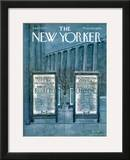 The New Yorker Cover - January 27, 1973 Framed Giclee Print by Laura Jean Allen