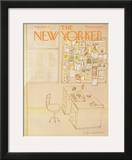 The New Yorker Cover - December 29, 1975 Framed Giclee Print by Eugène Mihaesco