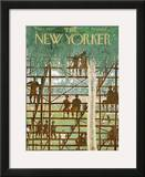 The New Yorker Cover - March 9, 1963 Framed Giclee Print by Garrett Price