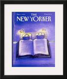 The New Yorker Cover - December 3, 1990 Framed Giclee Print by Eugène Mihaesco