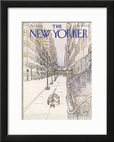 The New Yorker Cover - December 4, 1978 Framed Giclee Print by Arthur Getz