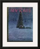 The New Yorker Cover - December 27, 1947 Framed Giclee Print by Garrett Price