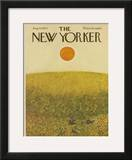 The New Yorker Cover - August 15, 1970 Framed Giclee Print by Ilonka Karasz
