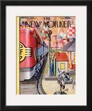 The New Yorker Cover - December 17, 1955 Framed Giclee Print by Arthur Getz