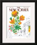 The New Yorker Cover - April 7, 1973 Framed Giclee Print by Joseph Low