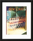 The New Yorker Cover - January 17, 1942 Framed Giclee Print by Constantin Alajalov