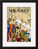 The New Yorker Cover - February 22, 1941 Framed Giclee Print by  Alain