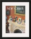 The New Yorker Cover - December 17, 1960 Framed Giclee Print by Beatrice Szanton