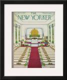 The New Yorker Cover - June 8, 1957 Framed Giclee Print by Edna Eicke