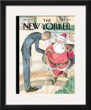 The New Yorker Cover - December 14, 2009 Framed Giclee Print by Barry Blitt