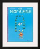The New Yorker Cover - October 10, 1977 Framed Giclee Print by Arnie Levin