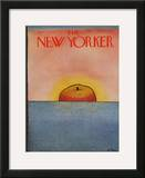 The New Yorker Cover - April 9, 1979 Framed Giclee Print by Pierre LeTan