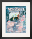 The New Yorker Cover - January 20, 1986 Framed Giclee Print by Jean-Jacques Sempé
