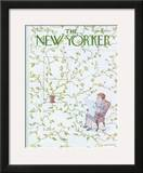 The New Yorker Cover - March 15, 1976 Framed Giclee Print by James Stevenson