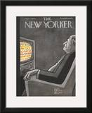 The New Yorker Cover - May 14, 1955 Framed Giclee Print by Peter Arno