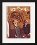 The New Yorker Cover - April 1, 1933 Framed Giclee Print by Julian de Miskey