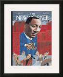The New Yorker Cover - January 16, 1995 Framed Giclee Print by Mark Ulriksen