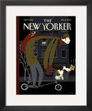 The New Yorker Cover - January 18, 2010 Framed Giclee Print by Frank Viva