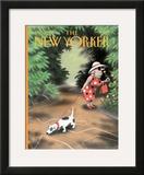 The New Yorker Cover - September 16, 1996 Framed Giclee Print by Ian Falconer