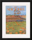 The New Yorker Cover - October 28, 1972 Framed Giclee Print by Albert Hubbell