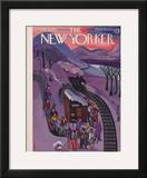 The New Yorker Cover - January 24, 1942 Framed Giclee Print by Beatrice Tobias