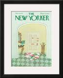 The New Yorker Cover - December 13, 1976 Framed Giclee Print by Laura Jean Allen