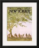 The New Yorker Cover - May 20, 1972 Framed Giclee Print by James Stevenson