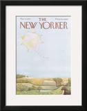 The New Yorker Cover - May 13, 1972 Framed Giclee Print by Ilonka Karasz