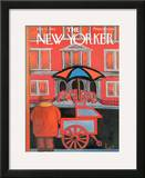 The New Yorker Cover - November 21, 1964 Framed Giclee Print by Robert Kraus