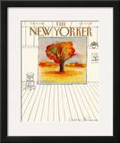 The New Yorker Cover - October 6, 1980 Framed Giclee Print by Eugène Mihaesco