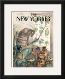 The New Yorker Cover - July 10, 2000 Framed Giclee Print by Edward Sorel