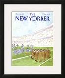 The New Yorker Cover - November 16, 1987 Framed Giclee Print by James Stevenson