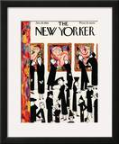The New Yorker Cover - January 29, 1938 Framed Giclee Print by Christina Malman