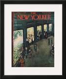 The New Yorker Cover - September 27, 1958 Framed Giclee Print by Abe Birnbaum