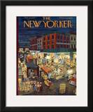 The New Yorker Cover - November 23, 1957 Framed Giclee Print by Ilonka Karasz