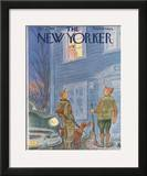 The New Yorker Cover - November 21, 1953 Framed Giclee Print by Julian de Miskey