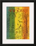 The New Yorker Cover - February 5, 1979 Framed Giclee Print by Joseph Low
