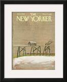 The New Yorker Cover - June 11, 1966 Framed Giclee Print by Andre Francois
