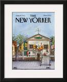 The New Yorker Cover - June 24, 1985 Framed Giclee Print by Albert Hubbell