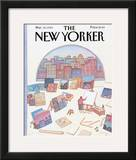 The New Yorker Cover - March 18, 1985 Framed Giclee Print by Lonni Sue Johnson