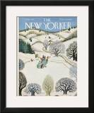 The New Yorker Cover - February 1, 1947 Framed Giclee Print by Edna Eicke
