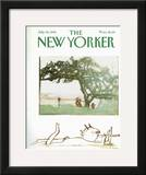 The New Yorker Cover - July 26, 1982 Framed Giclee Print by Andre Francois