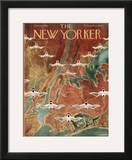 The New Yorker Cover - October 8, 1949 Framed Giclee Print by Reginald Massie