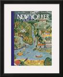 The New Yorker Cover - August 18, 1934 Framed Giclee Print by Ilonka Karasz
