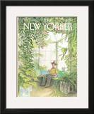The New Yorker Cover - January 31, 1983 Framed Giclee Print by Charles Saxon